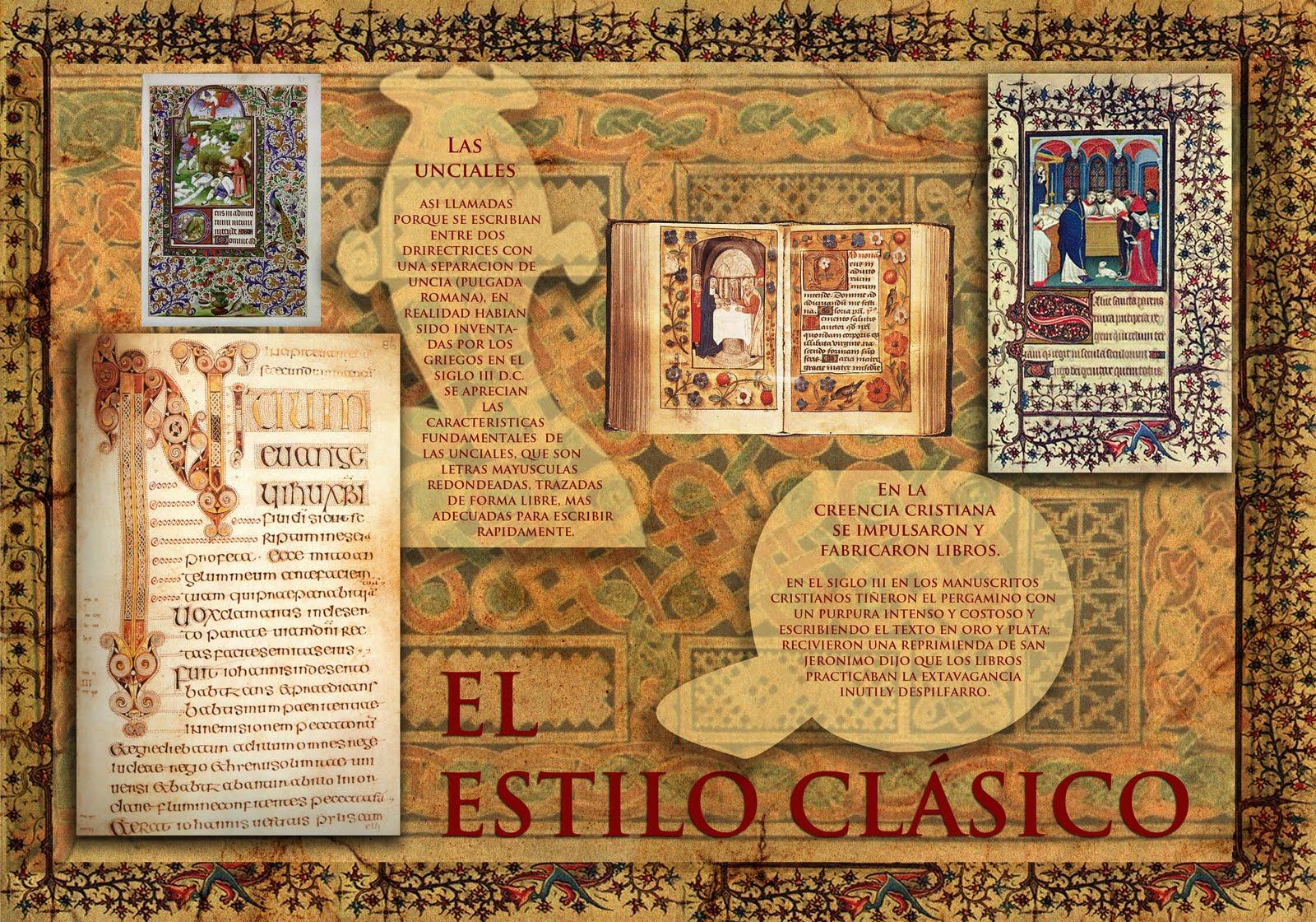 Historia de la comunicaci n visual javeriana cali el for El estilo clasico