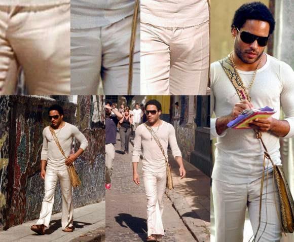 Lenny Kravitz bulge