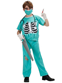 sindsyg kirurg kostume