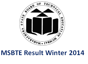 MSBTE Result Winter 2014