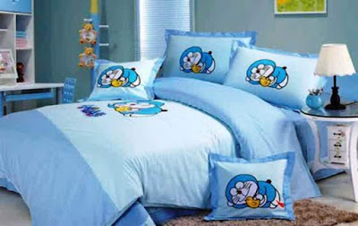 Dekorasi Kamar Tidur Anak Doraemon
