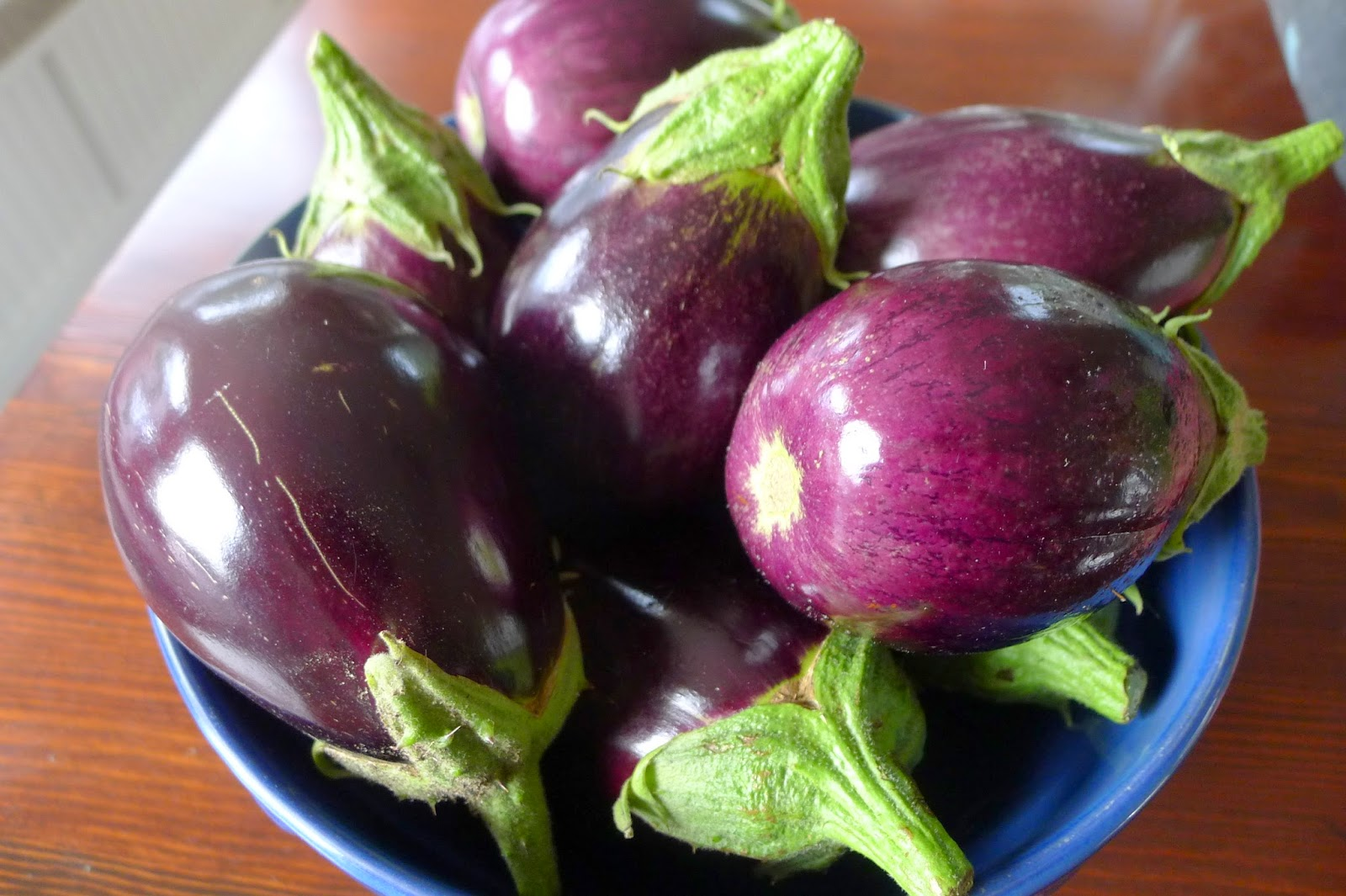 Preserving eggplant