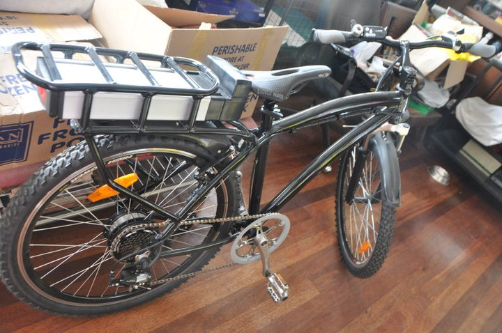Shoprandomstuff Electric Motor Assisted Bicycle With