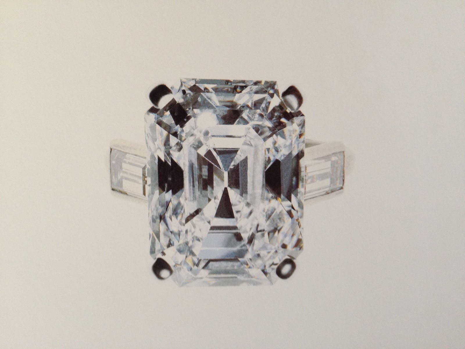 the diamond engagement ring presented to grace kelly
