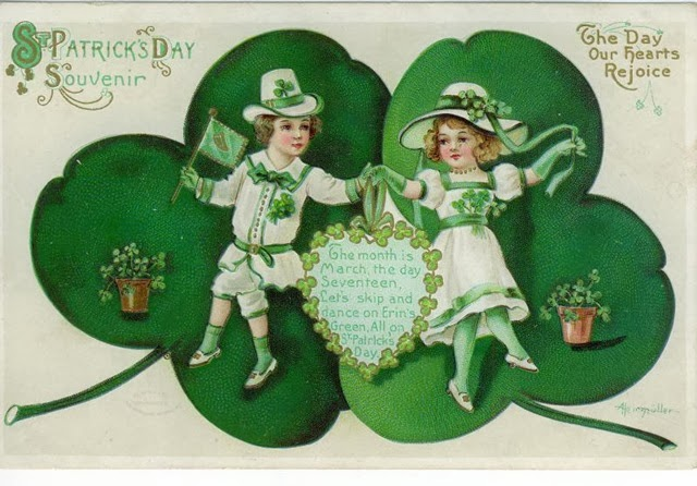 St Patrick Day Cards 2014
