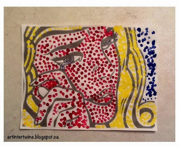 Roy Lichtenstein Dots For Kids