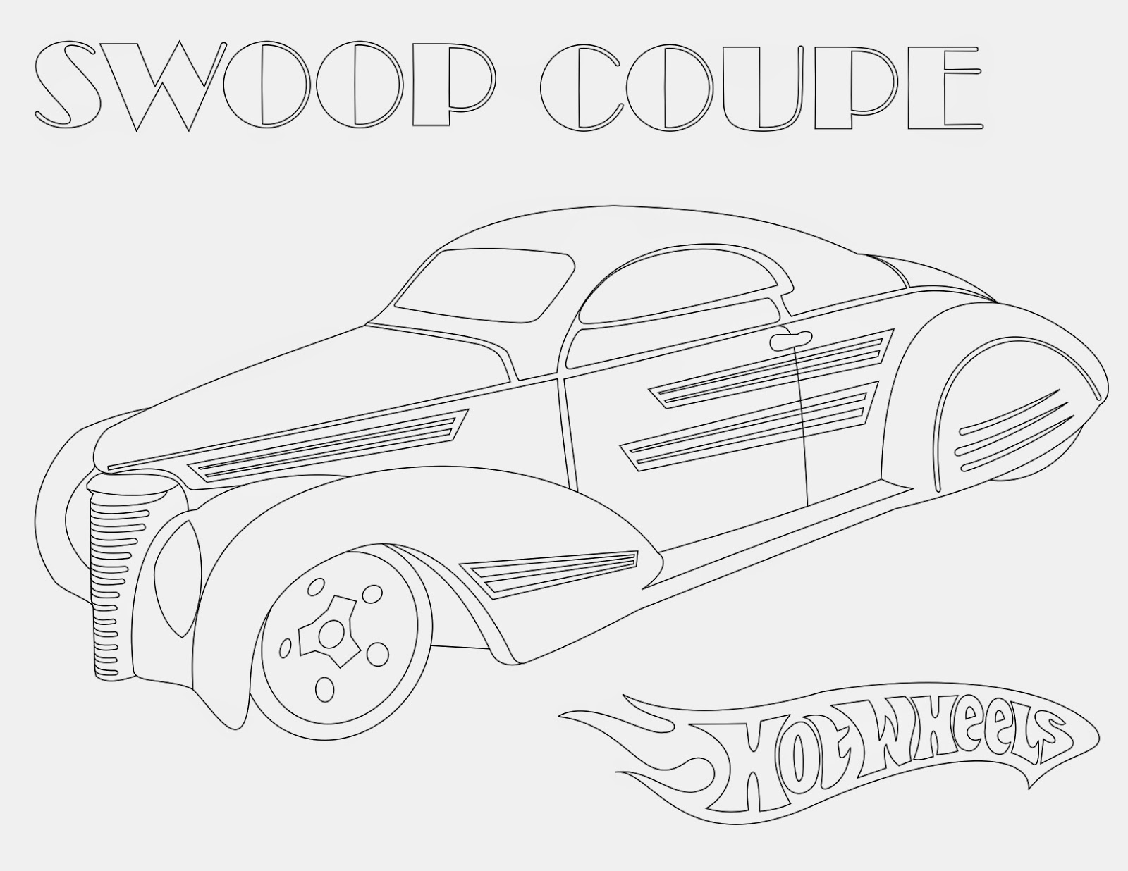 Hot Wheels Coloring Pages 56