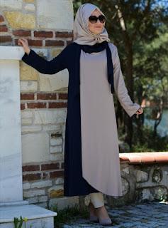 Busana muslim modern gamis turki terbaru model elegan masa kini