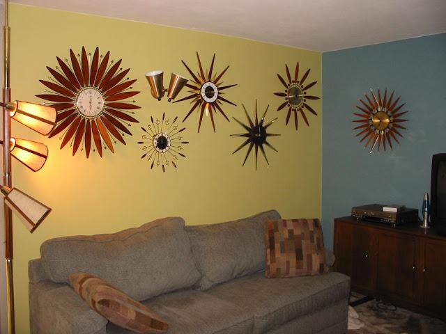 Wanduhren im Mid-Century Design - schöne Dekoration an der Wand nicht nur im Wohnzimmer