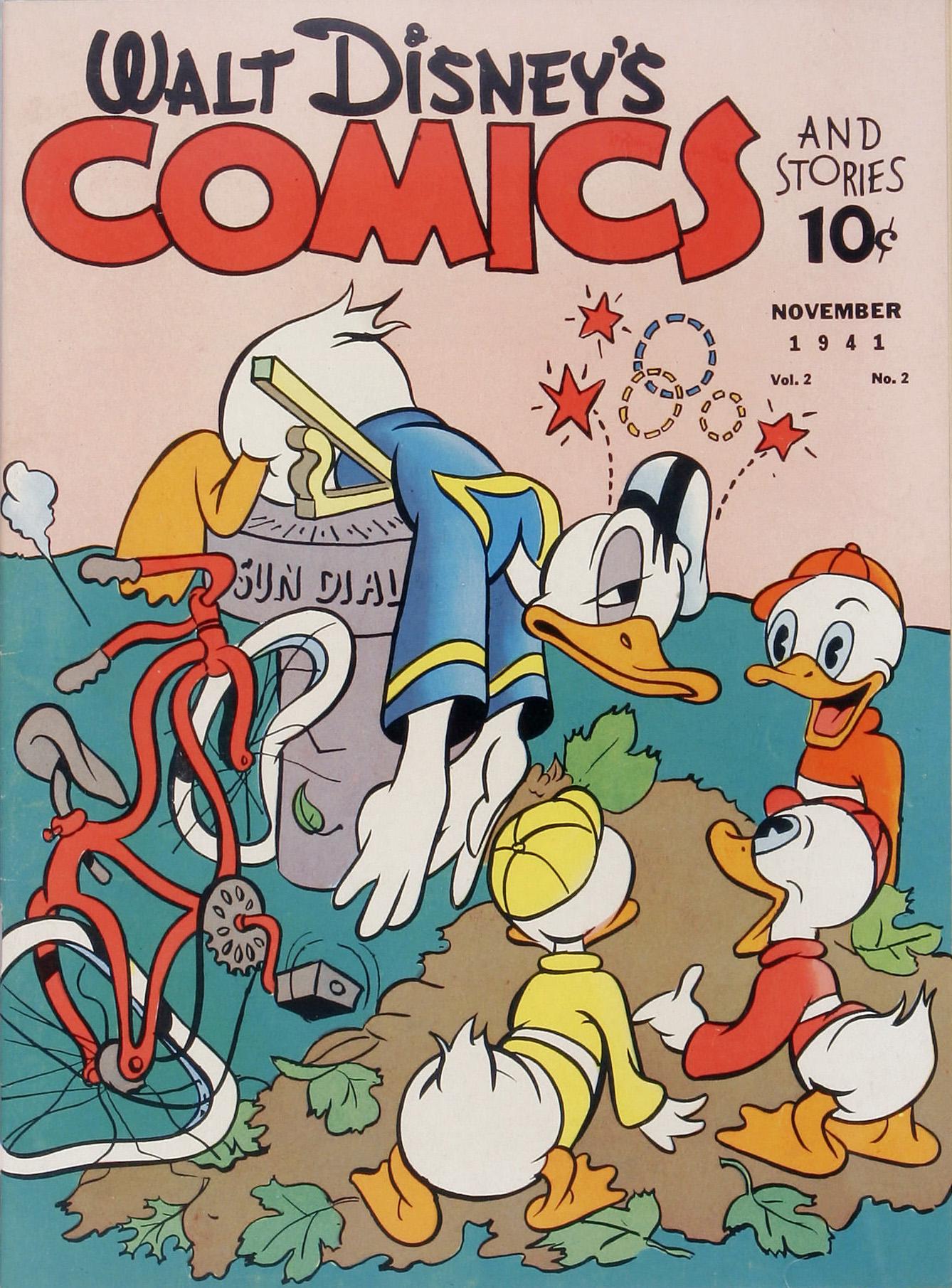 Walt Disneys Comics and Stories 14 Page 1