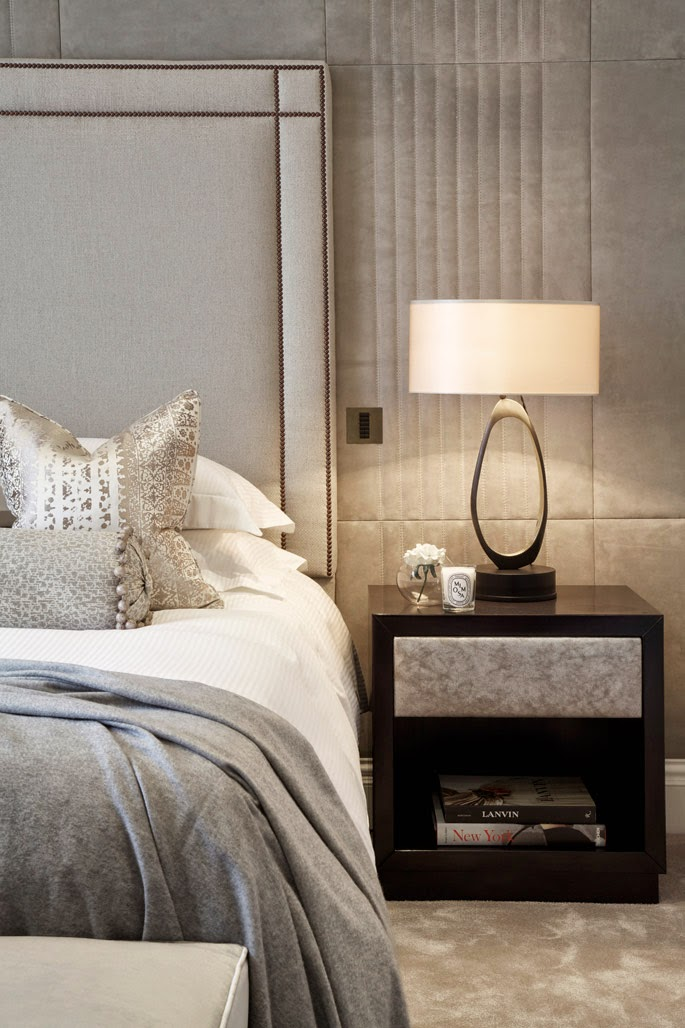 Above image Cocovara simple padded headboard with