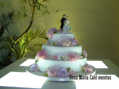 mesa branca, bolo