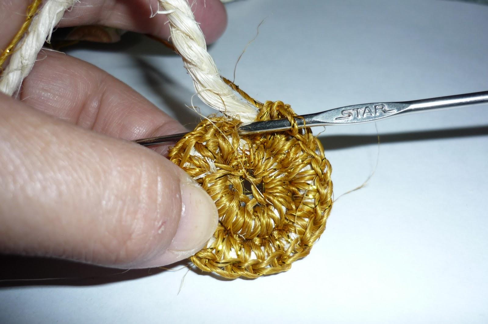 Tejer bolso en fique estilo mochila Manualidades tiles