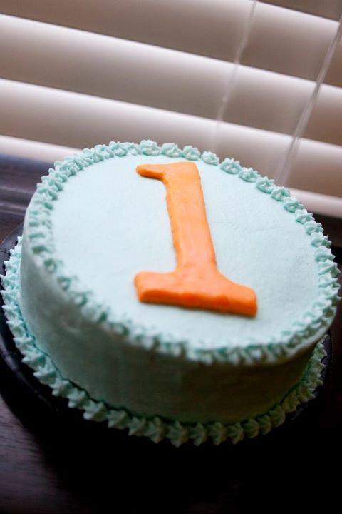 Katherines Confections 1st Birthday Gator Cake