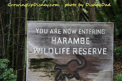 Growing Up Disney AK Harambe Wildlife Reserve