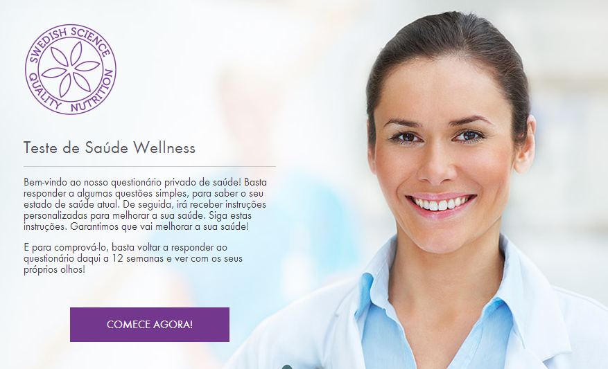 Faça o Teste de Saúde Wellness by Oriflame