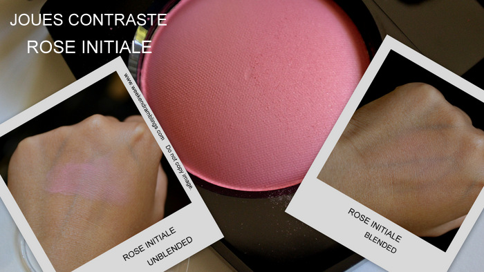 Les Essentiels de Chanel Makeup Collection Fall 2012 Beauty Blog Swatches Rose Initiale Joues Contraste Blush