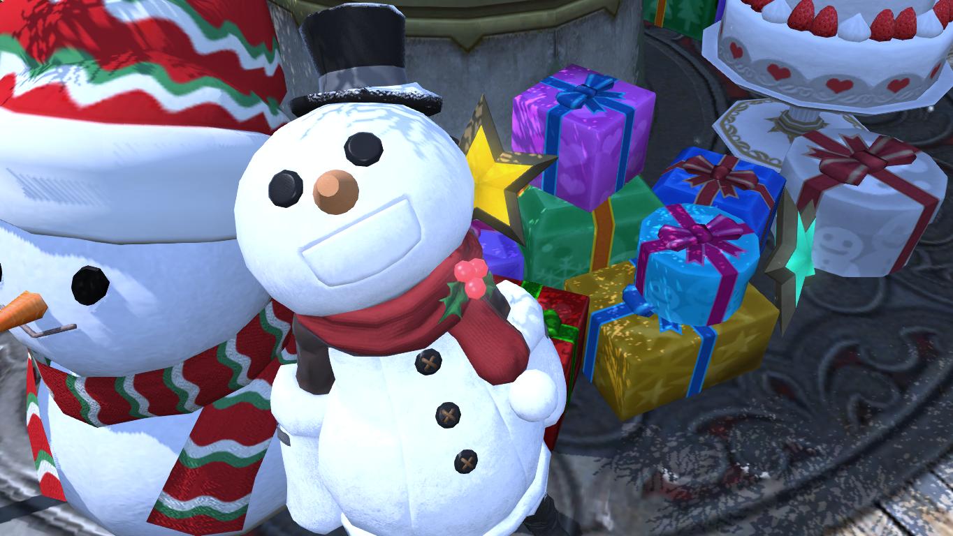 Kou Ji: A Blog about FFXIV: Jingle bells, jingle bells...