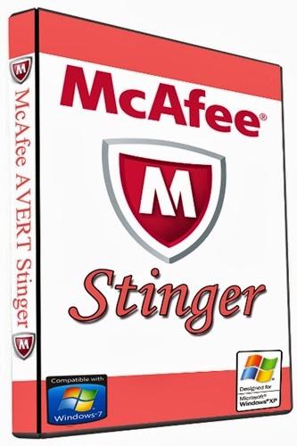 تحميل برنامج McAfee Stinger 12.1.0.824 مكافى استنغير
