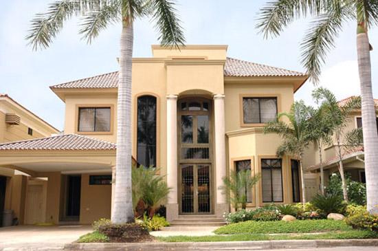 Fachadas de casas modernas y lujosas cocinas modernas - Fachadas de casas sencillas de un solo piso ...