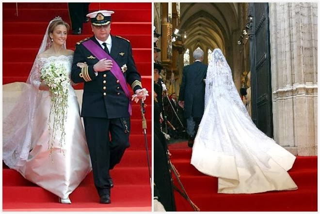 Delightful Just As He Designed Her Sister In Law Princess Mathildeu0027s Triumph, NATANu0027s  Edouard Vermeulen Designed This Dress For Claire. While He Has Been  Responsible ...