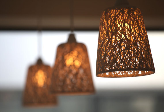 I love handmade hanging porcelain pendant light by tokyo craft branches of light is part of tokyo craft studios award winning nature series with this collection they create a light that changes the way people mozeypictures Choice Image