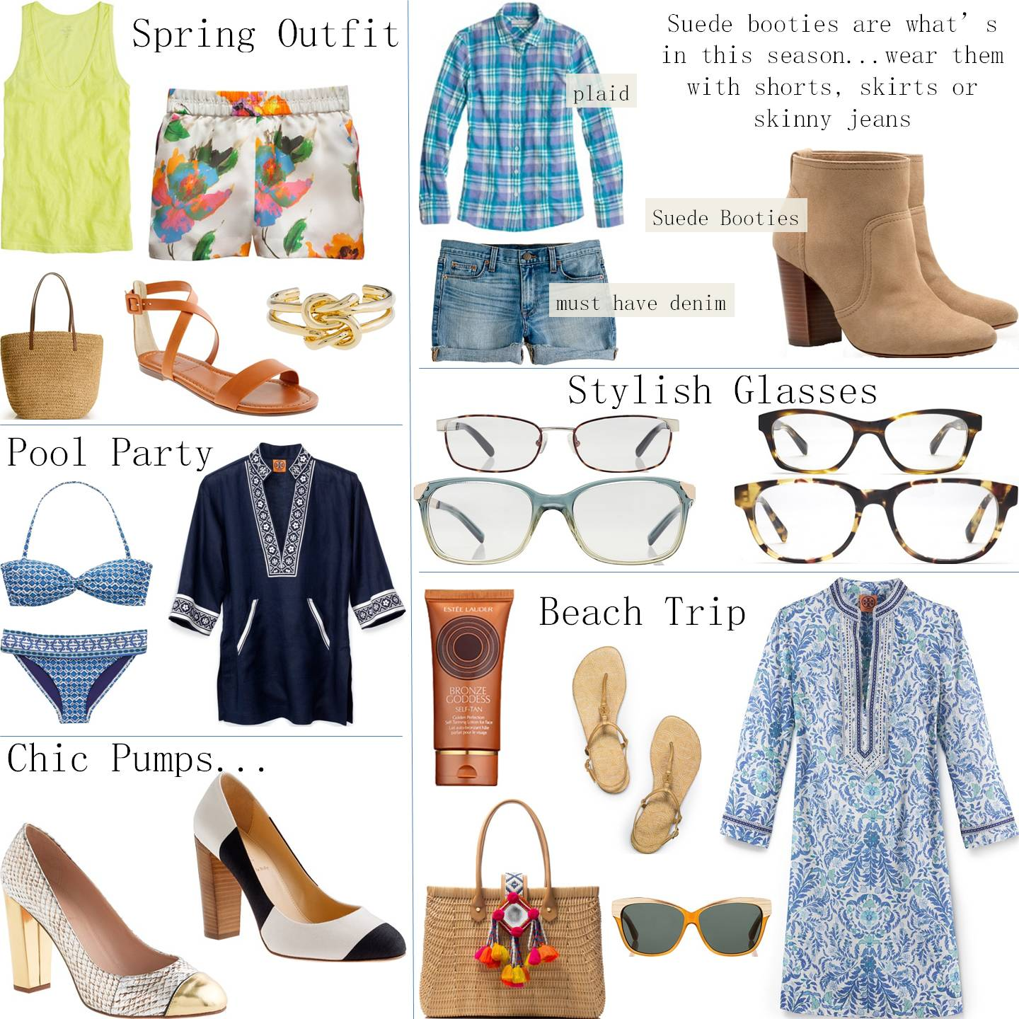 CHIC COASTAL LIVING: Springtime Style Guide