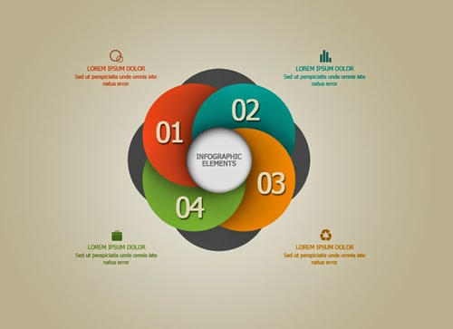 Photoshop Tutorial Infographic Creative Spiral