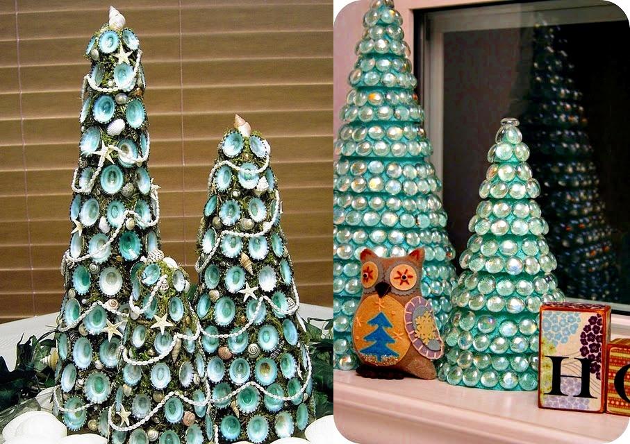 Новогодние поделки на елку из бумаги своими руками