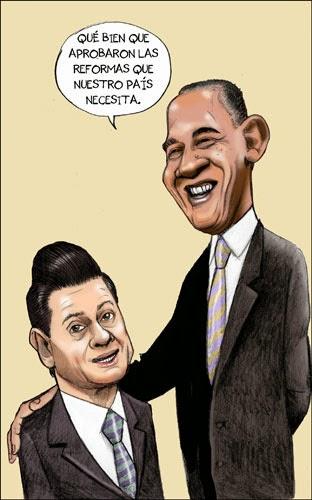 Caricatura de Reformas Políticas
