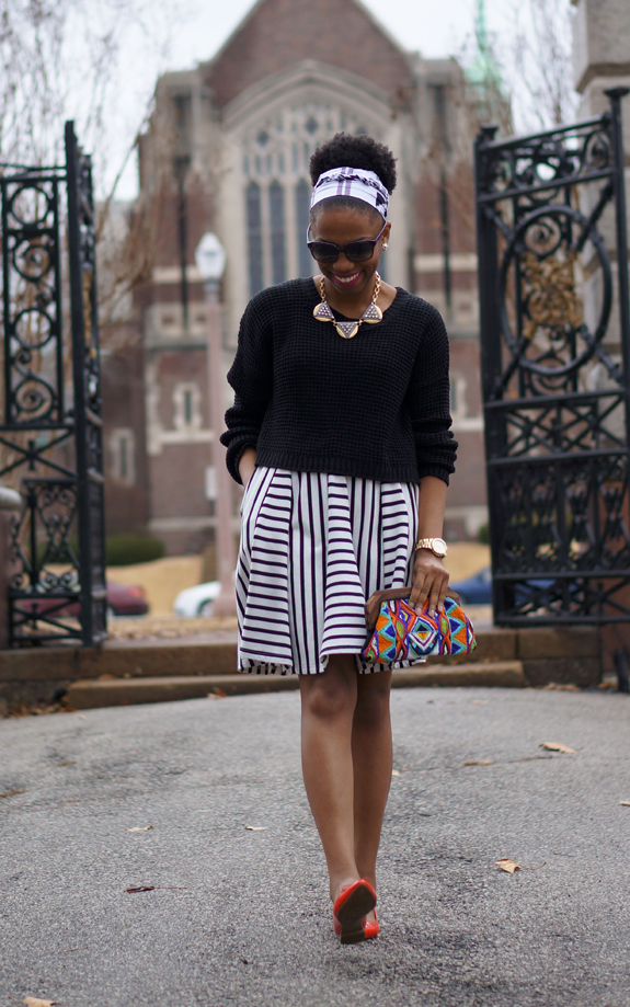 Cropped Sweater Over A Dress Economy Of Style