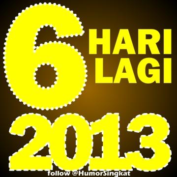 Angka Keren Warna Kuning Ganti Tahun