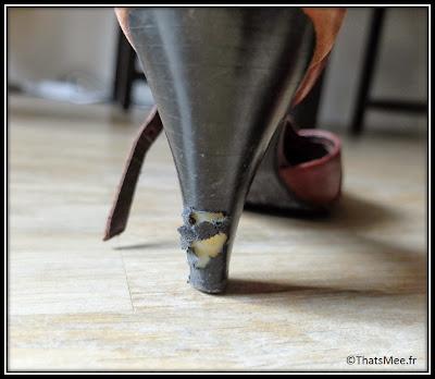 Bon Plan Cordonnerie à La Ville à La Montagne boulevard Beaumarchais Paris chaussures montagne boutique chalet suisse réparation talon