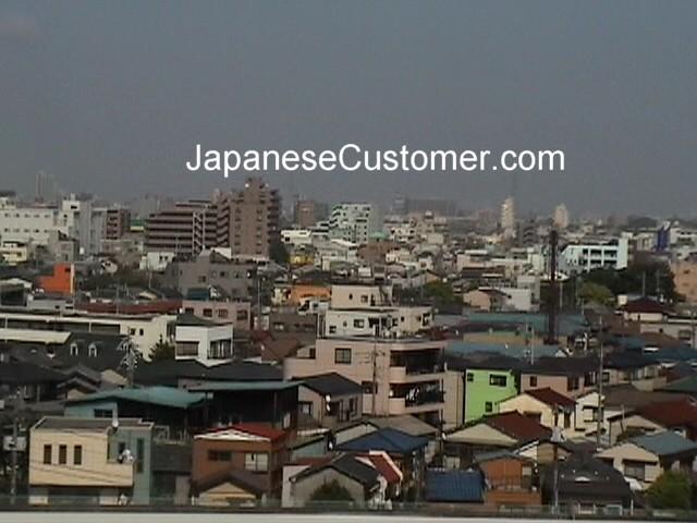 Tokyo skyline Copyright Peter Hanami 2005