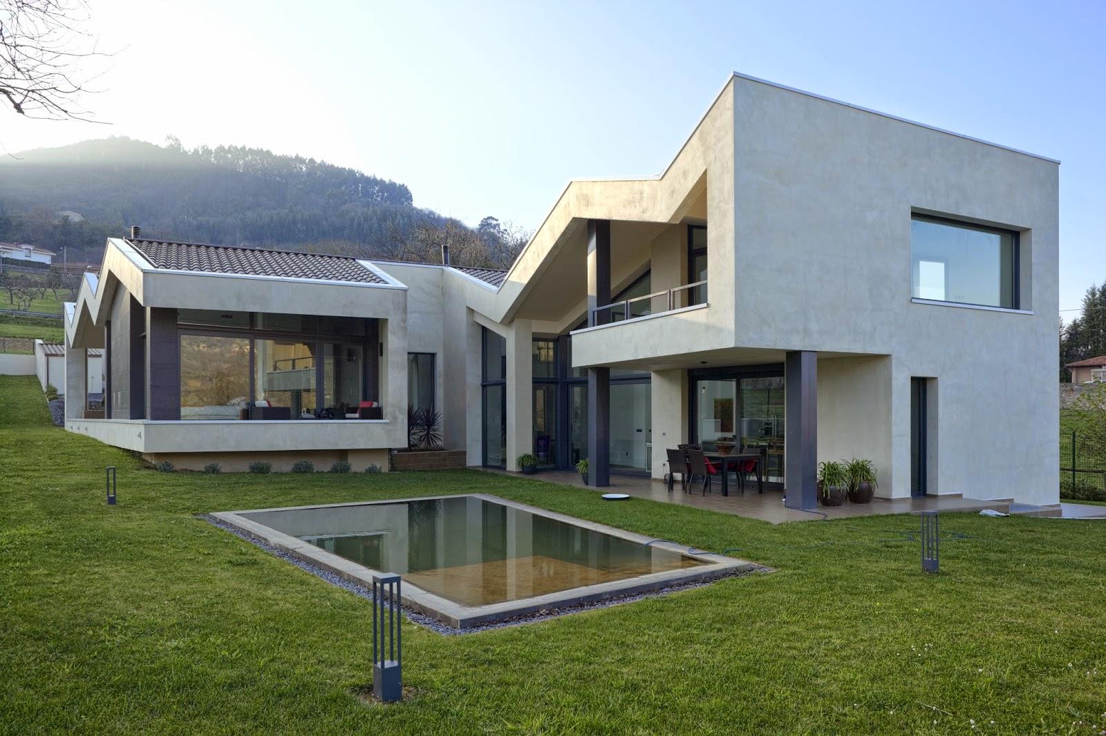 Casa vp pablo fern ndez fern ndez aib architecture obras - Arquitectos en gijon ...