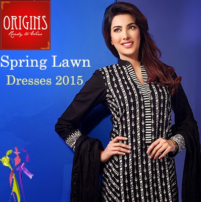 Origins Outfits Ready to Wear Spring Lawn Dresses