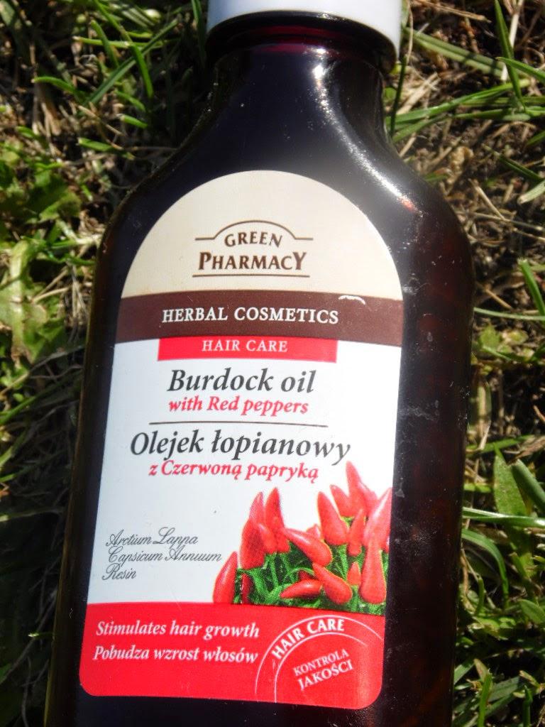 Green Pharmacy Olejek łopianowy z czerwoną papryką - po 2 miesiacach stosowania