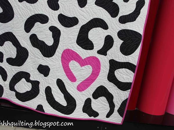 Leopard Print Quilt