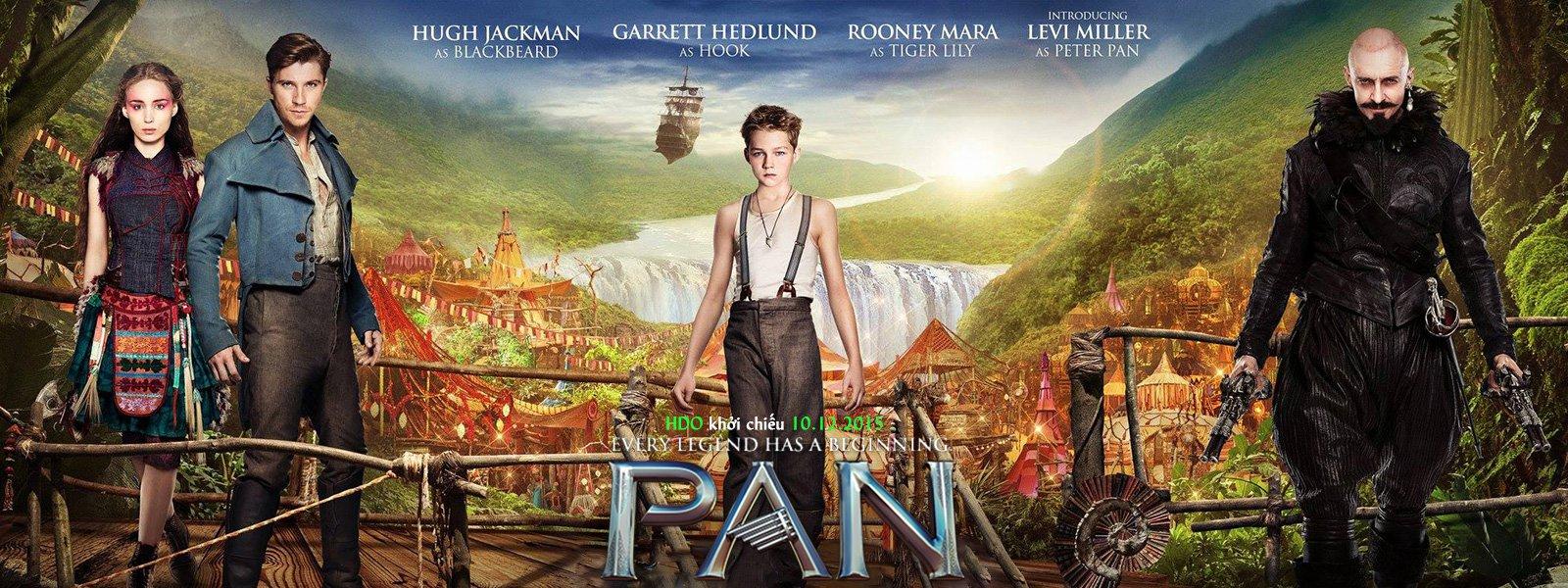 Pan Và Vùng Đất Neverland - Pan - 2015