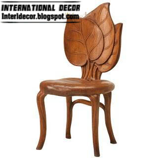 Wooden Flower Chair Design 2013
