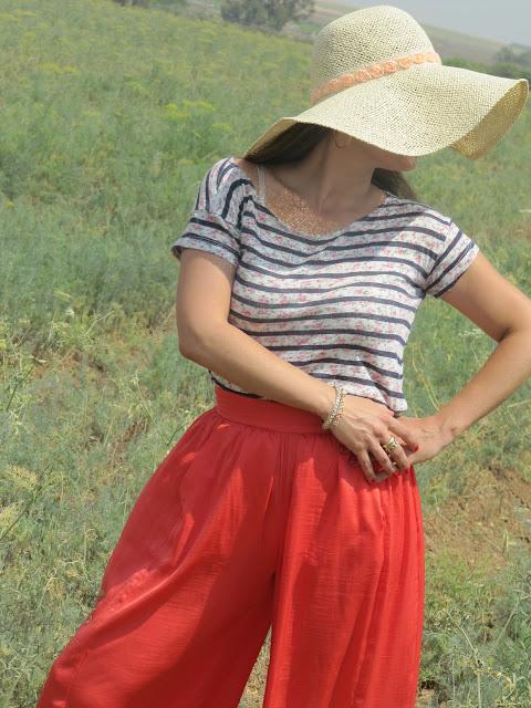 בלוג אופנה Vered'Style לכובע שלי שלוש פינות....