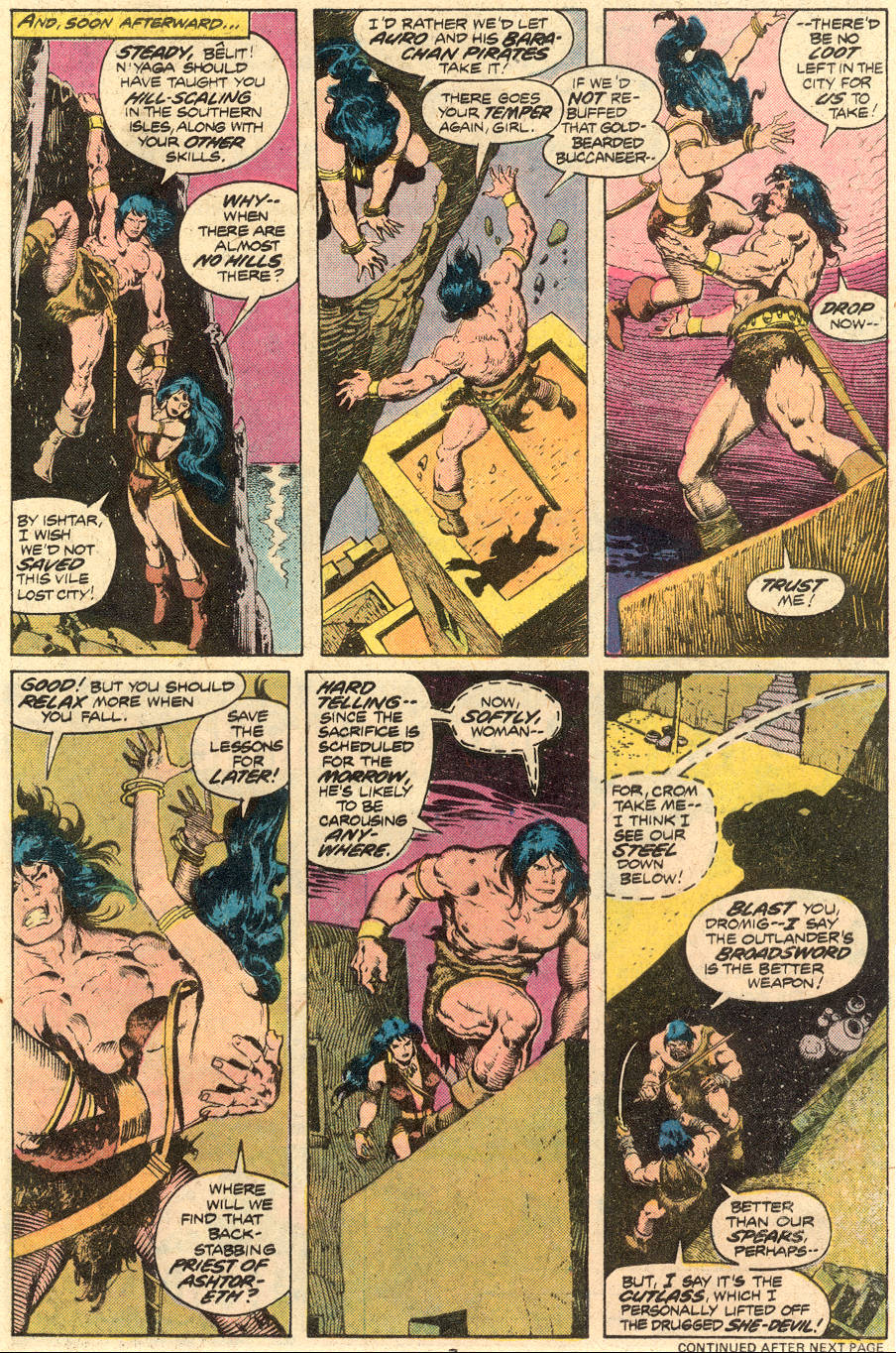 Conan the Barbarian (1970) Issue #71 #83 - English 6