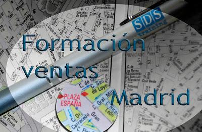 Busca tu formación en ventas en Madrid