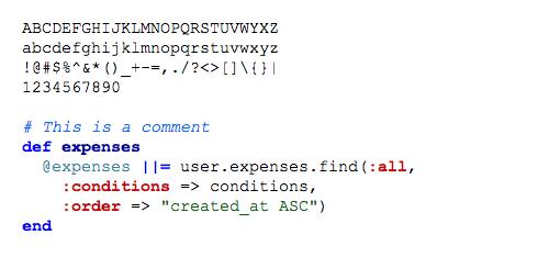 January 2014 Ubuntu Font