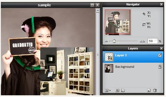 Mengganti Background Foto Menggunakan Pixlr Editor Online