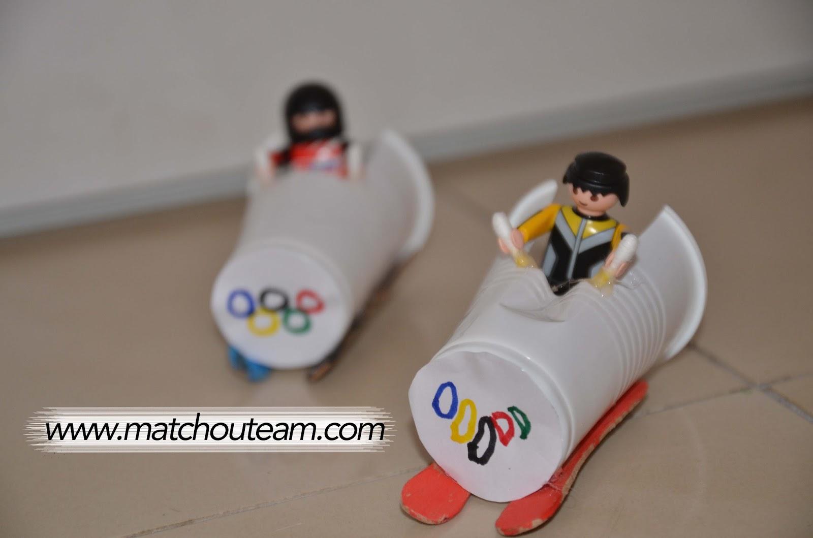 bobsleigh olympique à fabriquer