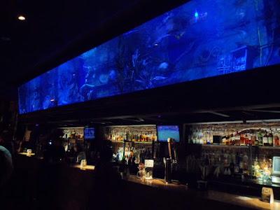 Megan Tilly O'Laughlin's Debut as Mermaid at Dive Bar on K Street Mall
