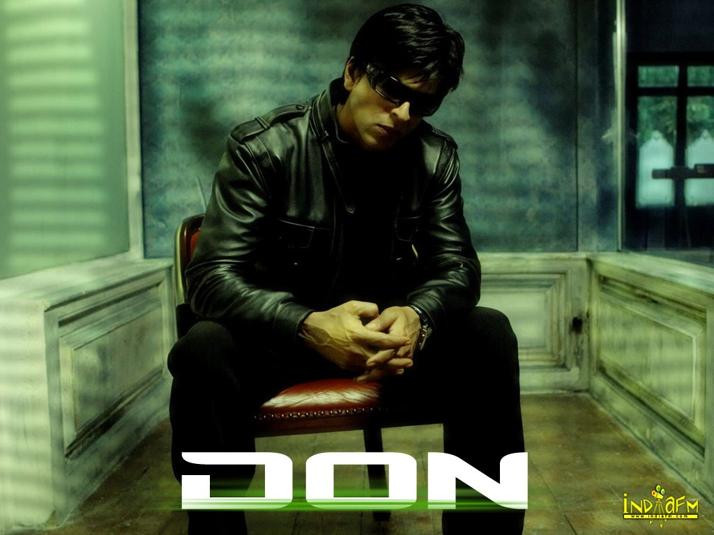 Beautiful Wallpapers: Bollywood Movie DON Wallpapers HD