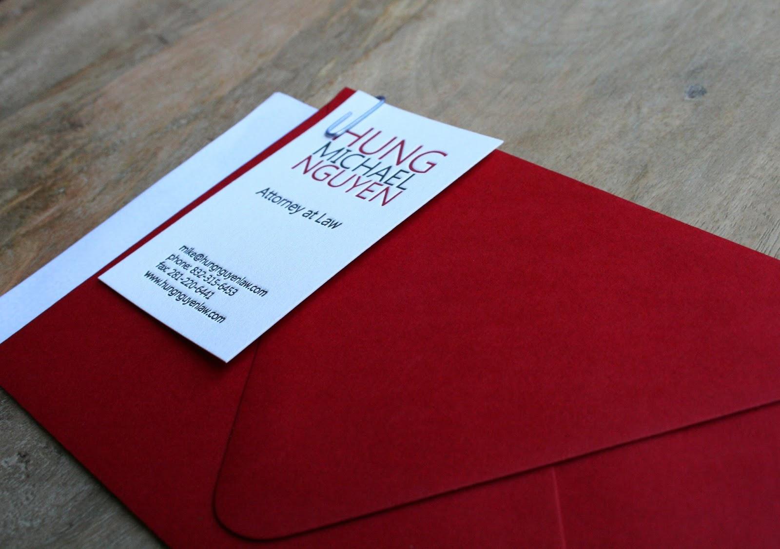 bluebonnet press: why letterpress business cards?