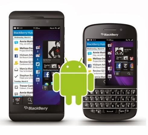 Secondo una fonte interna a Blackberry la versione software 10.2.1 avrà il supporto ai file APK di Android